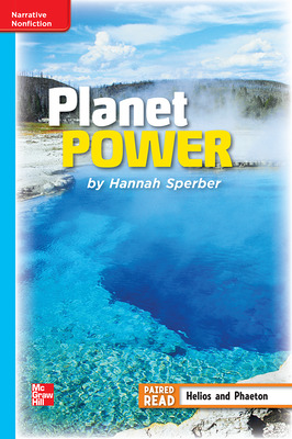 Reading Wonders Leveled Reader Planet Power: On-Level Unit 6 Week 3 Grade 4