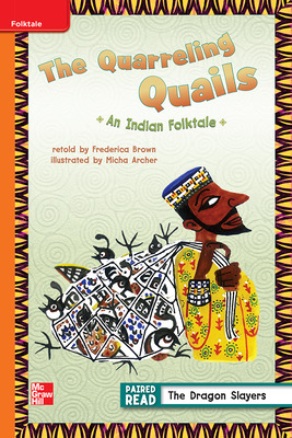 Reading Wonders Leveled Reader The Quarreling Quails: Approaching Unit 2 Week 1 Grade 3