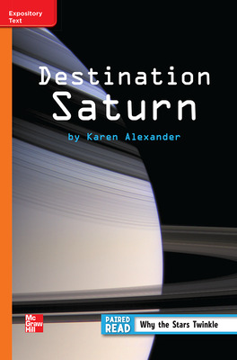 Reading Wonders Leveled Reader Destination Saturn: Approaching Unit 3 Week 3 Grade 3