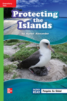 Reading Wonders Leveled Reader Protecting the Islands: Beyond Unit 2 Week 4 Grade 3