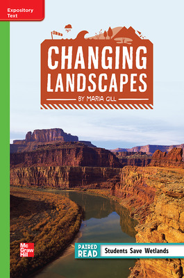 Reading Wonders Leveled Reader Changing Landscapes: Beyond Unit 1 Week 3 Grade 4