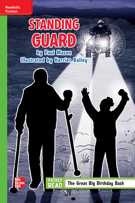 Reading Wonders Leveled Reader Standing Guard: Beyond Unit 3 Week 2 Grade 4