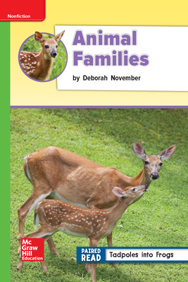 Reading Wonders Leveled Reader Animal Families: Beyond Unit 2 Week 4 Grade 2