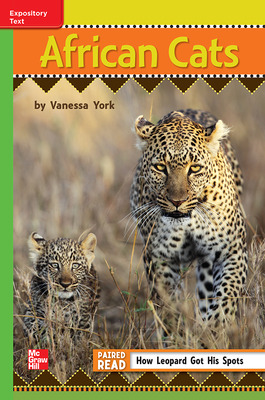 Reading Wonders Leveled Reader African Cats: Beyond Unit 6 Week 4 Grade 3