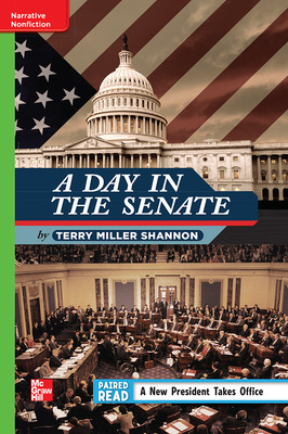 Reading Wonders Leveled Reader A Day in the Senate: Beyond Unit 4 Week 1 Grade 4