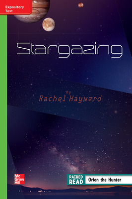 Reading Wonders Leveled Reader Stargazing: Beyond Unit 4 Week 4 Grade 4