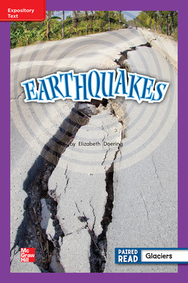 Reading Wonders Leveled Reader Earthquakes: ELL Unit 4 Week 2 Grade 2