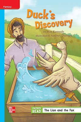 Reading Wonders Leveled Reader Duck's Discovery: On-Level Unit 1 Week 1 Grade 3