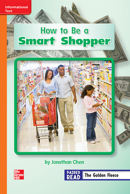 Reading Wonders Leveled Reader How to Be a Smart Shopper: Approaching Unit 6 Week 4 Grade 2