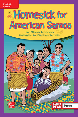 Reading Wonders Leveled Reader Homesick for American Samoa: ELL Unit 6 Week 5 Grade 4