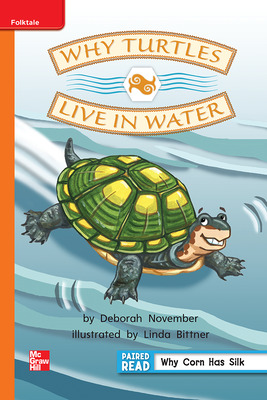 Reading Wonders Leveled Reader Why Turtles Live in Water: Approaching Unit 4 Week 4 Grade 2