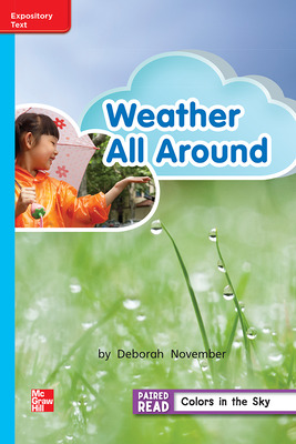 Reading Wonders Leveled Reader Weather All Around: On-Level Unit 3 Week 4 Grade 2