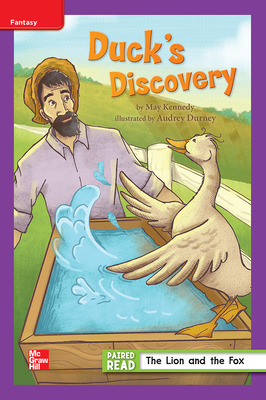 Reading Wonders Leveled Reader Duck's Discovery: ELL Unit 1 Week 1 Grade 3