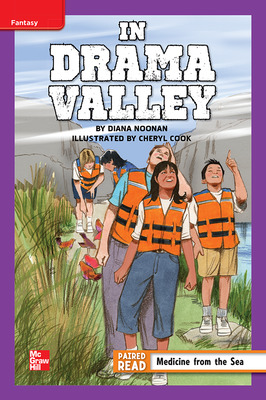 Reading Wonders Leveled Reader In Drama Valley: ELL Unit 3 Week 2 Grade 5