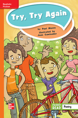 Reading Wonders Leveled Reader Try, Try Again: Approaching Unit 4 Week 5 Grade 4