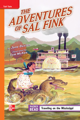 Reading Wonders Leveled Reader The Adventures of Sal Fink: Approaching Unit 5 Week 2 Grade 4