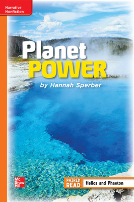 Reading Wonders Leveled Reader Planet Power: Approaching Unit 6 Week 3 Grade 4