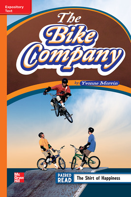 Reading Wonders Leveled Reader The Bike Company: Approaching Unit 6 Week 4 Grade 4