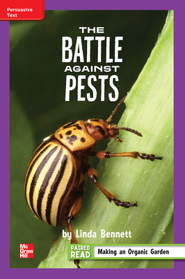 Reading Wonders Leveled Reader The Battle Against Pests: ELL Unit 3 Week 5 Grade 4