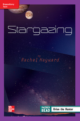 Reading Wonders Leveled Reader Stargazing: ELL Unit 4 Week 4 Grade 4