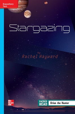 Reading Wonders Leveled Reader Stargazing: On-Level Unit 4 Week 4 Grade 4