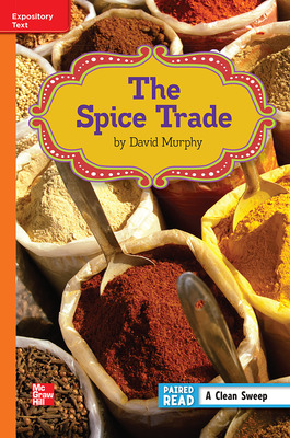 Reading Wonders Leveled Reader The Spice Trade: Approaching Unit 6 Week 1 Grade 6
