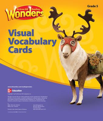 Reading Wonders, Grade 5, Visual Vocabulary Cards