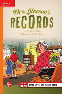 Reading Wonders Leveled Reader Mrs. Gleeson's Records: Approaching Unit 6 Week 1 Grade 5
