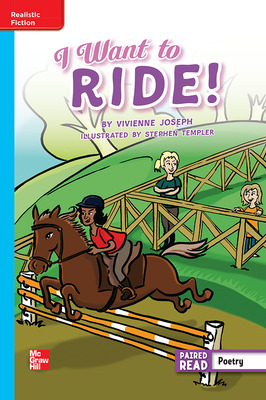Reading Wonders Leveled Reader I Want to Ride!: On-Level Unit 2 Week 5 Grade 5