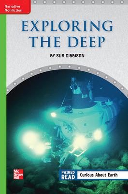 Reading Wonders Leveled Reader Exploring the Deep: Beyond Unit 1 Week 4 Grade 6