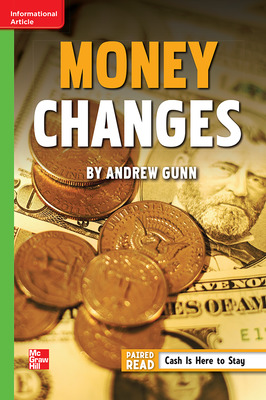 Reading Wonders Leveled Reader Money Changes: Beyond Unit 1 Week 5 Grade 6
