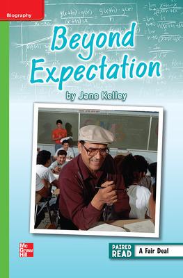 Reading Wonders Leveled Reader Beyond Expectation: Beyond Unit 3 Week 4 Grade 6