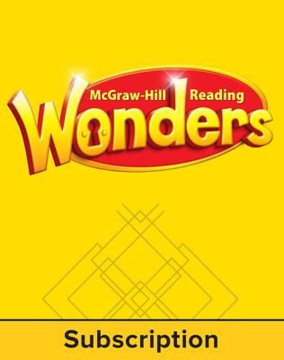 Reading Wonders, Grade K, Online Digital Program w/6 Year Subscription