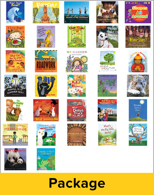 Reading Wonders Literature Big Books Package Grade K