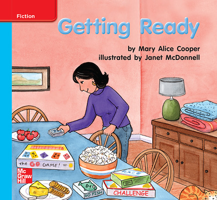 Reading Wonders Leveled Reader Getting Ready: On-Level Unit 6 Week 3 Grade K