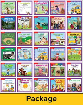 Reading Wonders, Grade K, Leveled Reader Package (6 ea. of 30) ELL
