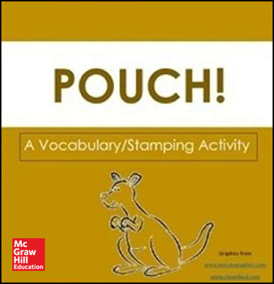 Reading Wonders Literature Big Book: Pouch! Grade K