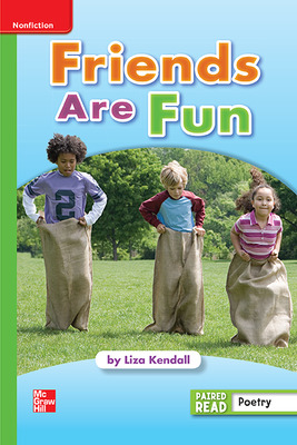 Reading Wonders Leveled Reader Friends Are Fun: Beyond Unit 1 Week 4 Grade 1