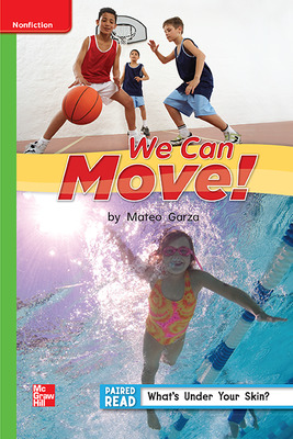 Reading Wonders Leveled Reader We Can Move!: Beyond Unit 1 Week 5 Grade 1