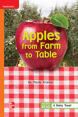Reading Wonders Leveled Reader Apples from Farm to Table: Approaching Unit 3 Week 5 Grade 1