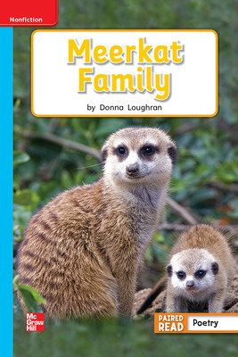 Reading Wonders Leveled Reader Meerkat Family: On-Level Unit 2 Week 3 Grade 1