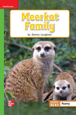 Reading Wonders Leveled Reader Meerkat Family: Beyond Unit 2 Week 3 Grade 1