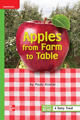 Reading Wonders Leveled Reader Apples from Farm to Table: Beyond Unit 3 Week 5 Grade 1