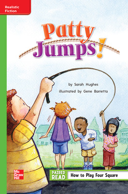 Reading Wonders Leveled Reader Patty Jumps!: Beyond Unit 6 Week 4 Grade 1