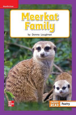 Reading Wonders Leveled Reader Meerkat Family: ELL Unit 2 Week 3 Grade 1