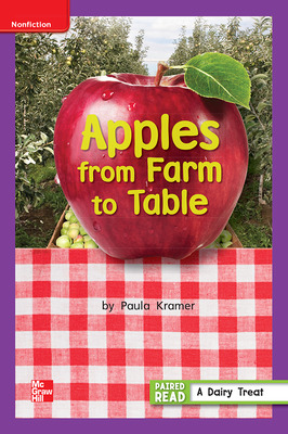 Reading Wonders Leveled Reader Apples from Farm to Table: ELL Unit 3 Week 5 Grade 1