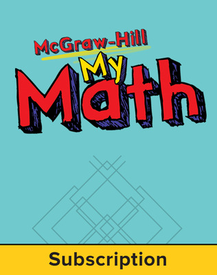 McGraw-Hill My Math, Grade 2, Online eStudent Edition, 1 year subscription