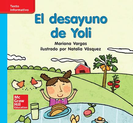 Lectura Maravillas Leveled Reader El desayuno de Yoli: On-Level Unit 5 Week 3 Grade K