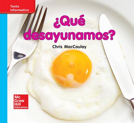 Lectura Maravillas Leveled Reader ¿Qué desayunamos?: On-Level Unit 9 Week 3 Grade K