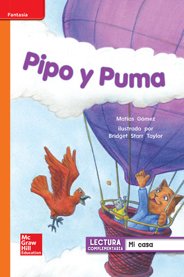 Lectura Maravillas Leveled Reader Pipo y Puma: Approaching Unit 1 Week 2 Grade 1